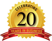 Celebration of 20 years in Business